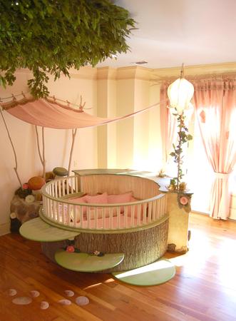 Оригинальные идеи для детской комнаты. Фото 21