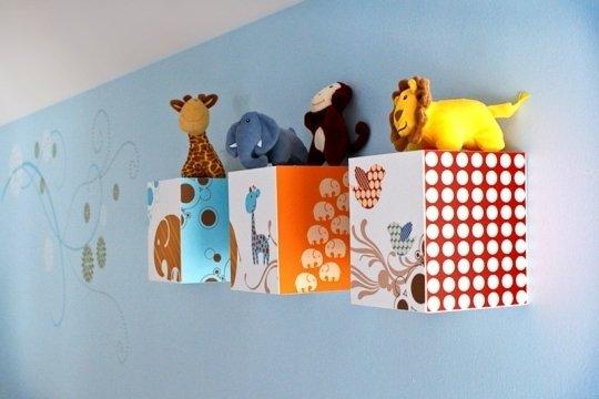 Оригинальные идеи для детской комнаты. Фото 4