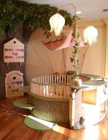 Оригинальные идеи для детской комнаты. Фото 22