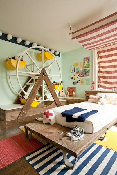 Оригинальные идеи для детской комнаты. Фото 20