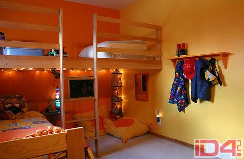 Оригинальные идеи для детской комнаты. Фото 16