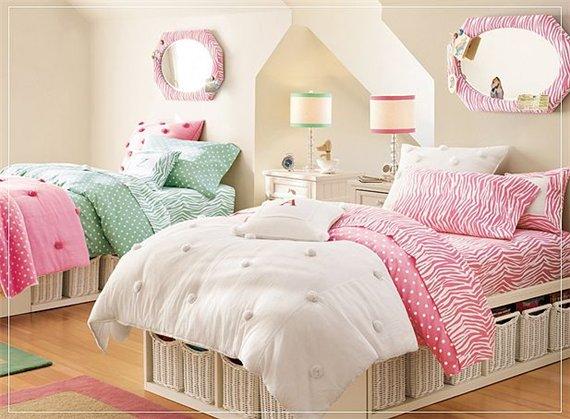 Оригинальные идеи для детской комнаты. Фото 27