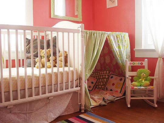 Оригинальные идеи для детской комнаты. Фото 17