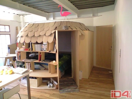 Оригинальные идеи для детской комнаты. Фото 12