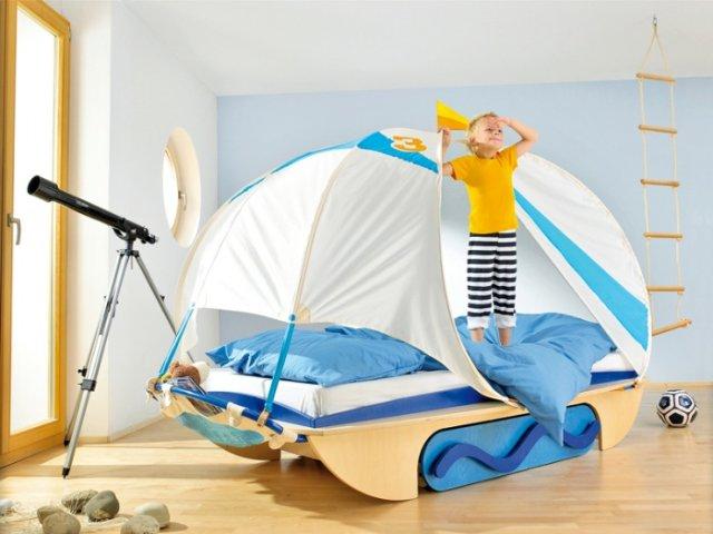Оригинальные идеи для детской комнаты. Фото 14