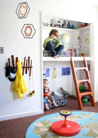 Оригинальные идеи для детской комнаты. Фото 6