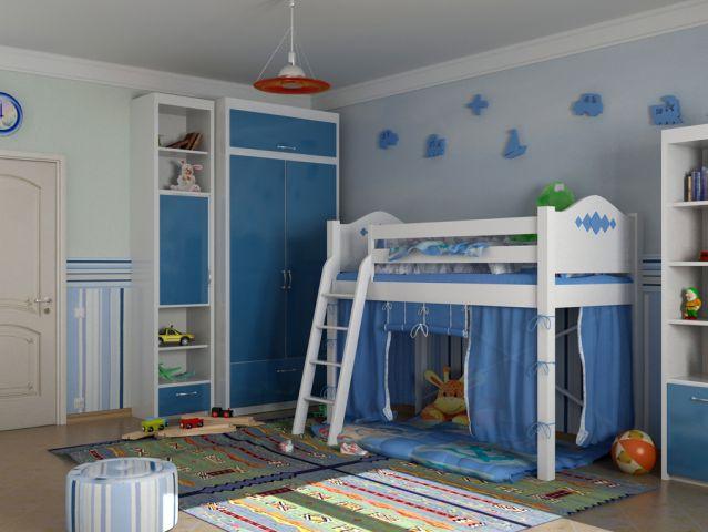 Оригинальные идеи для детской комнаты. Фото 11