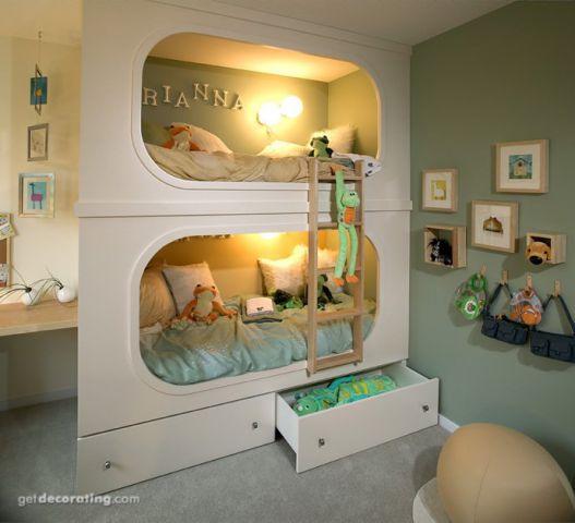Оригинальные идеи для детской комнаты. Фото 8