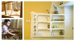 Оригинальные идеи для детской комнаты. Фото 13