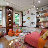 Оригинальные идеи для детской комнаты. Фото 3