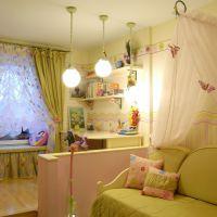 Оригинальные идеи для детской комнаты. Фото 2