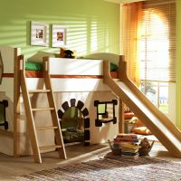 Оригинальные идеи для детской комнаты. Фото 28