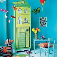 Оригинальные идеи для детской комнаты. Фото 1