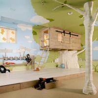 Оригинальные идеи для детской комнаты. Фото 19