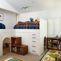 Оригинальные идеи для детской комнаты. Фото 23