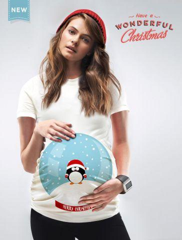 Новогоднее платье для беременных. Фото 3