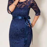 Новогоднее платье для беременных. Фото 6