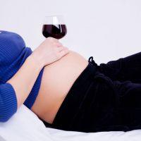 Употребление алкоголя при беременности
