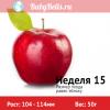 Неделя 15 - яблоко