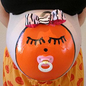Костюм на Хэллоуин для беременных. Фото 2